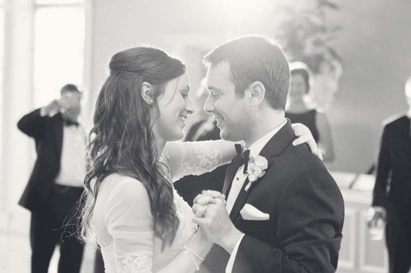 Elegant Southern Bride & Groom First Dance at Reception