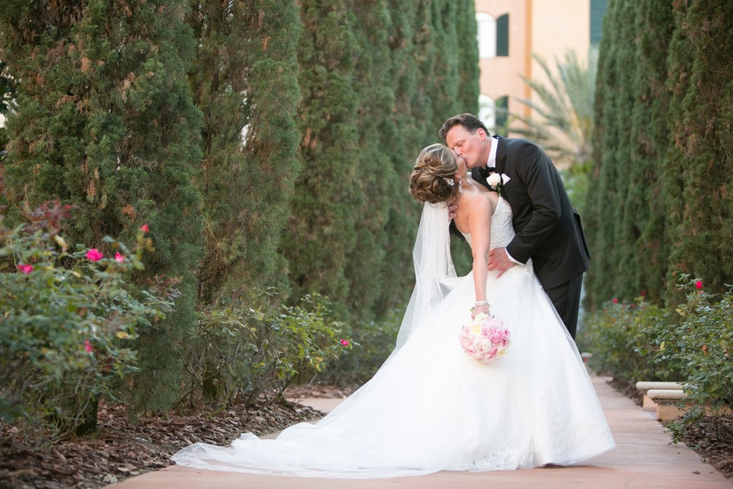 Luxe Outdoor Wedding at Loews Portofino Bay Hotel in Orlando, FL