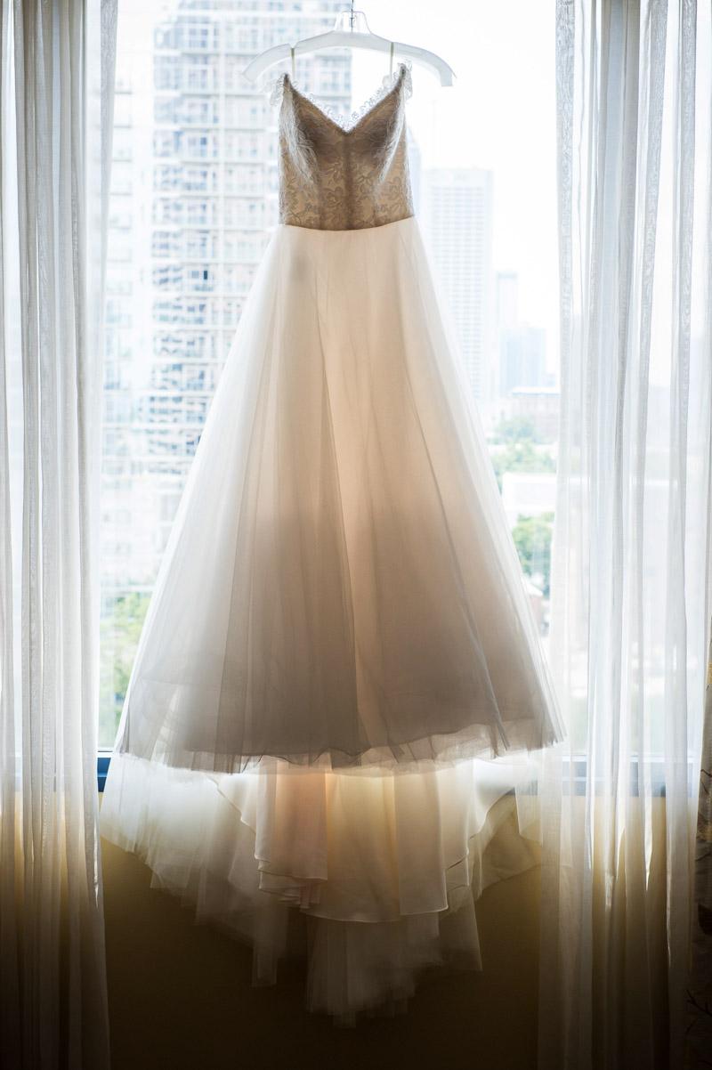 Glamorous Atlanta Wedding Bridal Gown