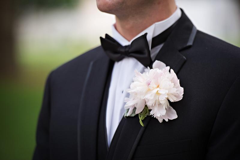 Glamorous Atlanta Wedding Groomswear and Boutonniere
