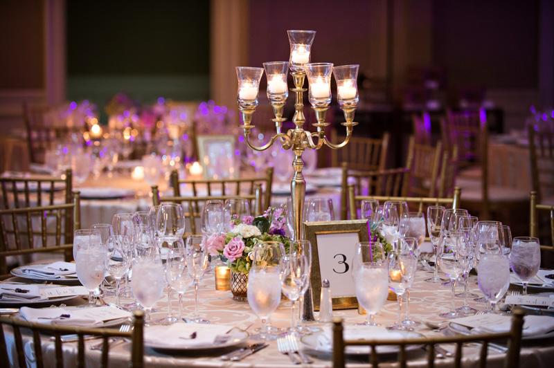 Glamorous Atlanta Wedding Tablescape
