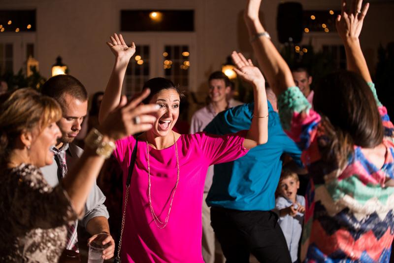 Glamorous Florida Wedding Reception Party Dancing