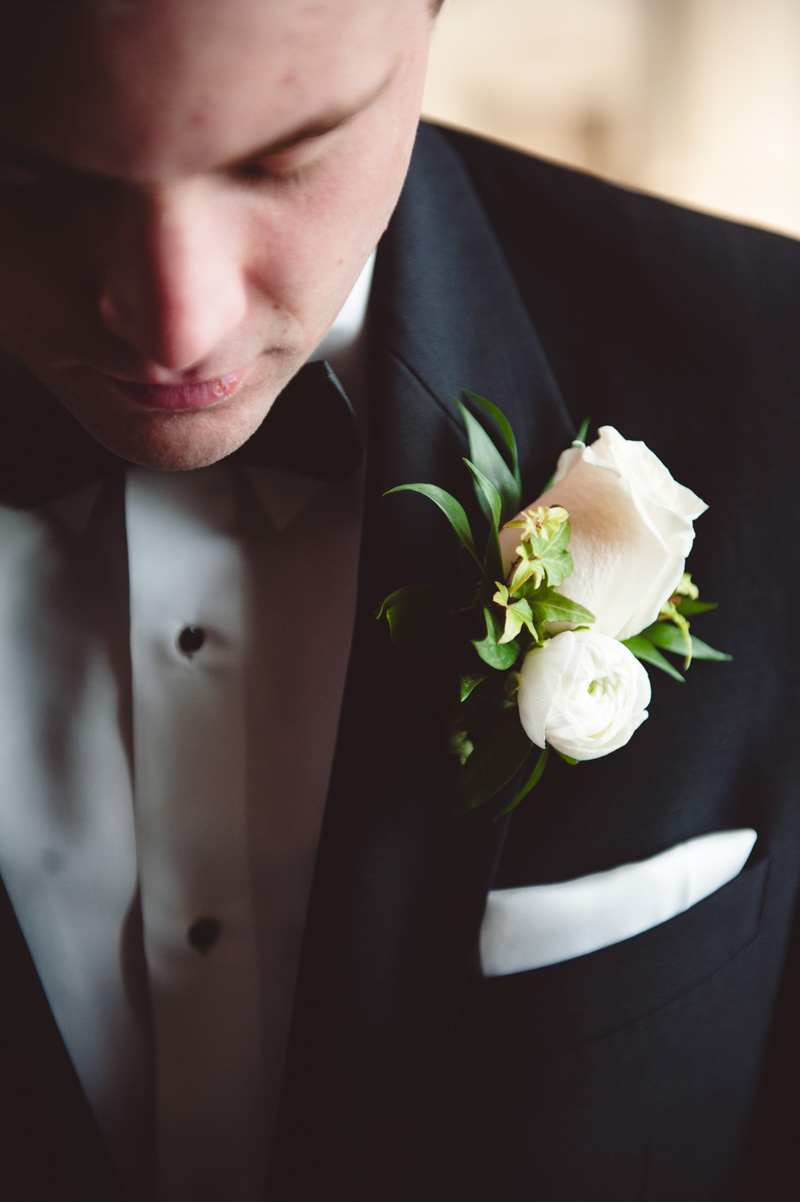 Groom Portrait with Boutonniere
