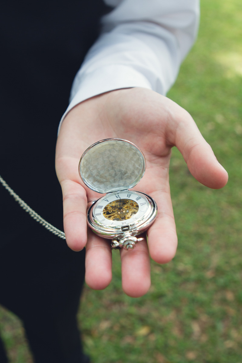 Lavish Southern Wedding Groom's Pocketwatch