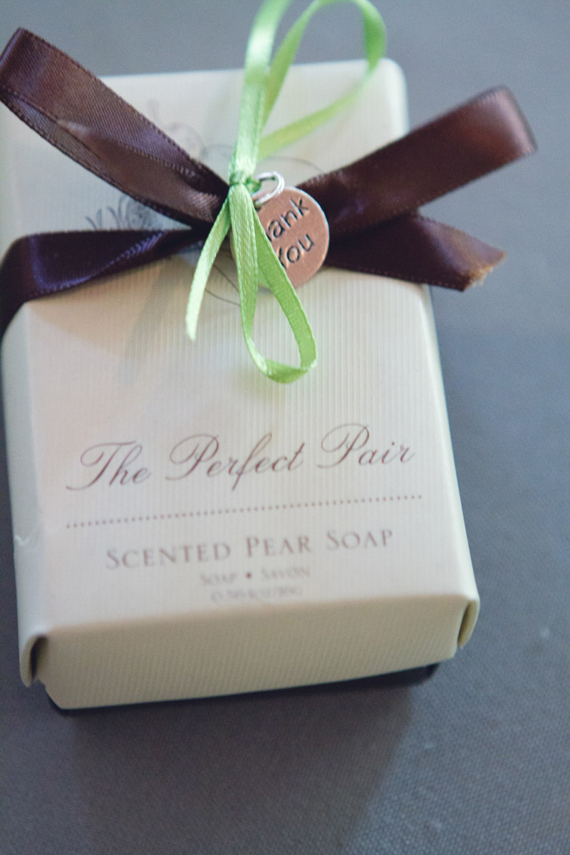 Lavish Southern Wedding Homemade Soap Gift
