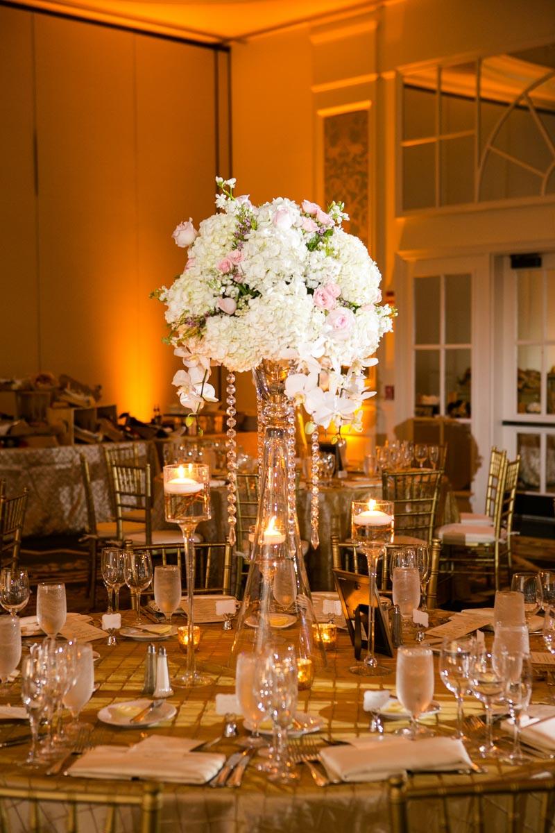 Reception flower bouquet