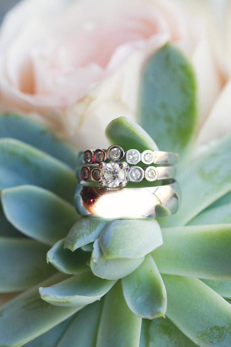 Romantic Elegant Southern Wedding Rings
