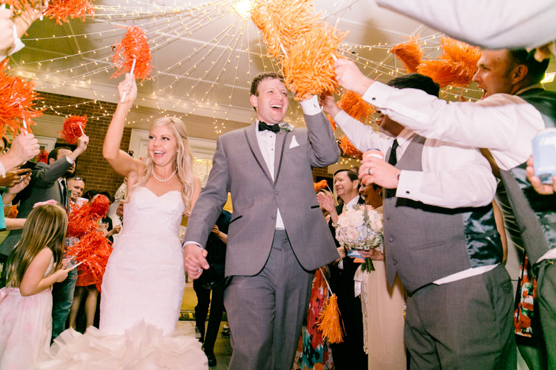 Smiling Bride & Groom in Ceremony