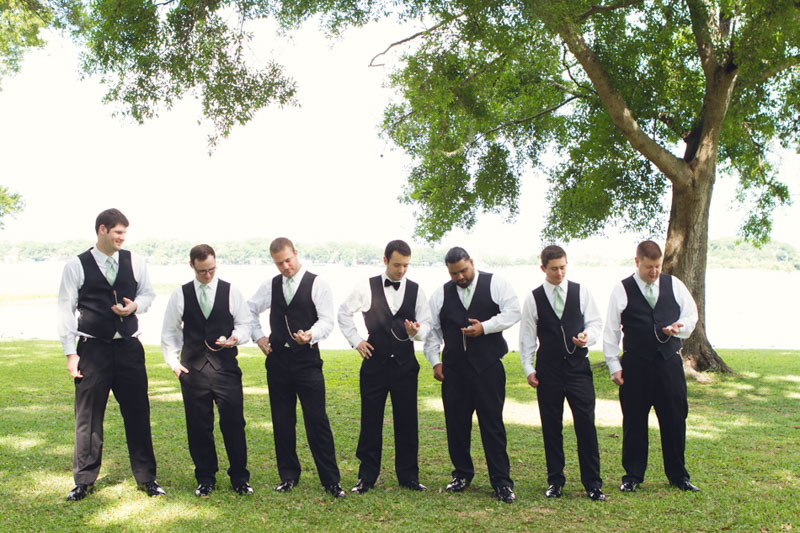 Southern Wedding Groom & Groomsmen