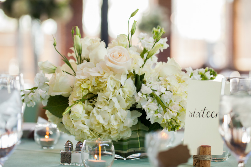 Flower reception centerpieces 2