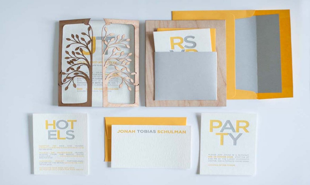 A Fine Press Wedding Invitations