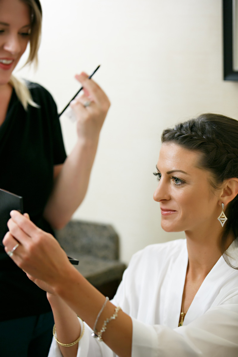 Behind the Scenes Makeup Artist Raney O'Keefe Photo by Laura Stone