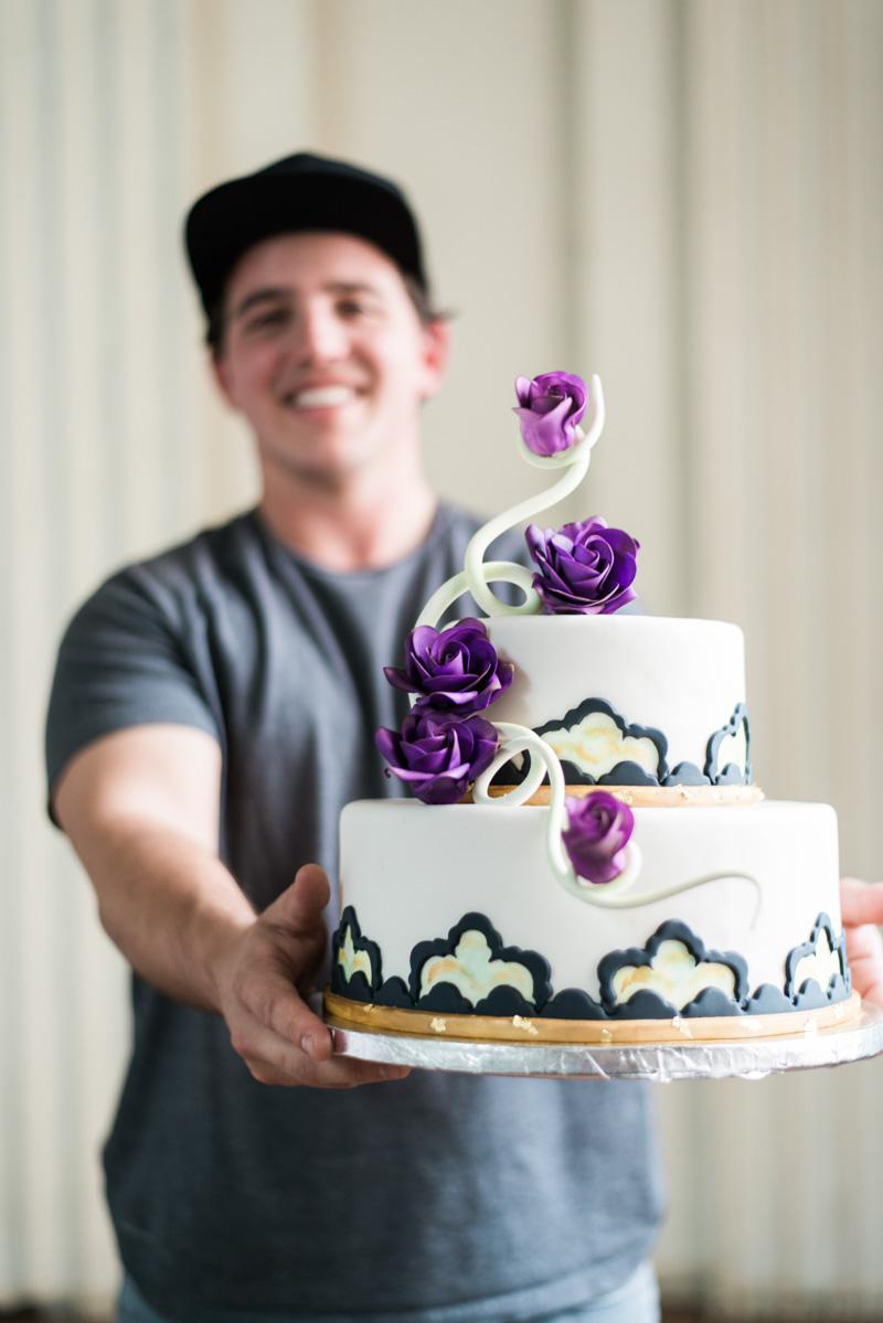 Cake Behind the Scenes Nils Rowland Creme de la Cocoa