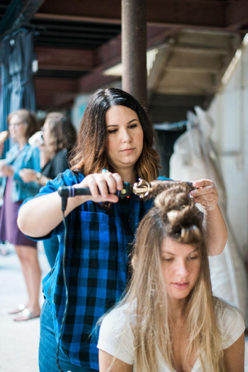 Jen Lewis hair stylist Cucumber & Mint