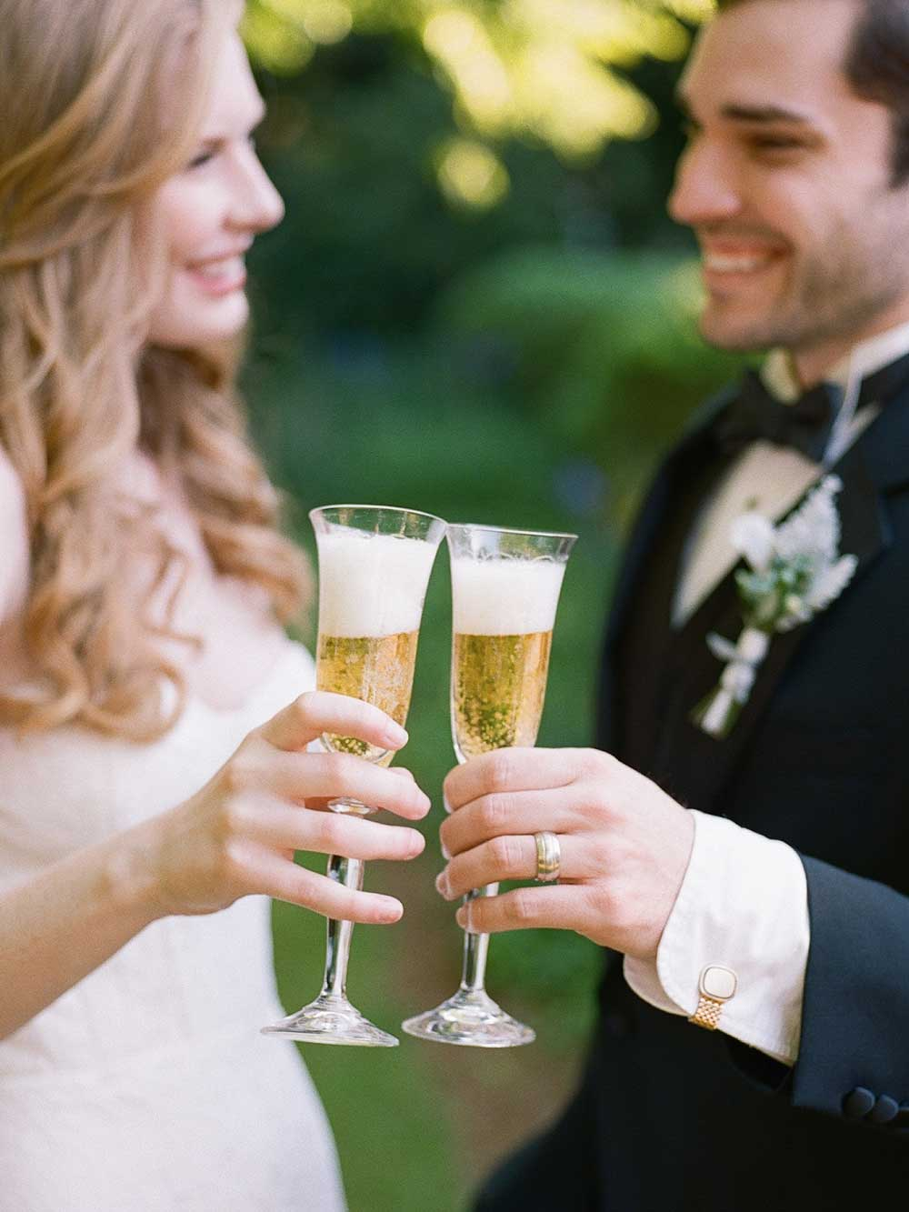 bride-and-groom-toasting