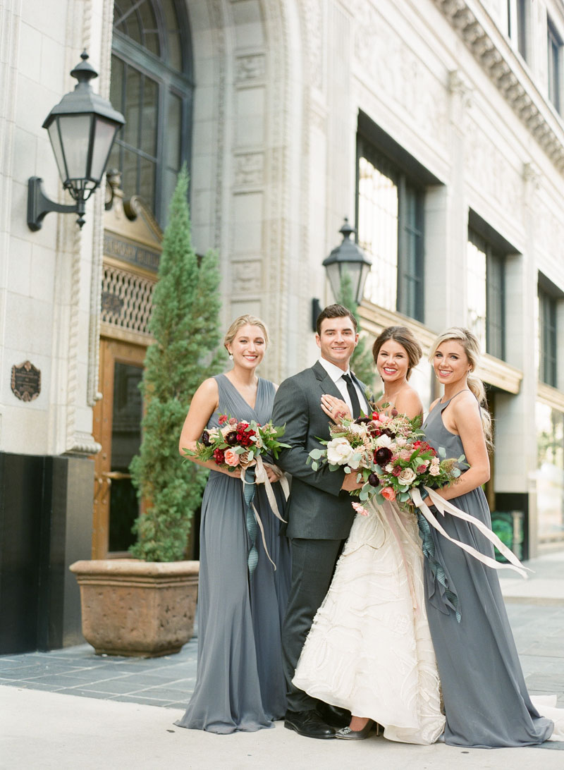 cityscape wedding inspiration downtown jacksonville