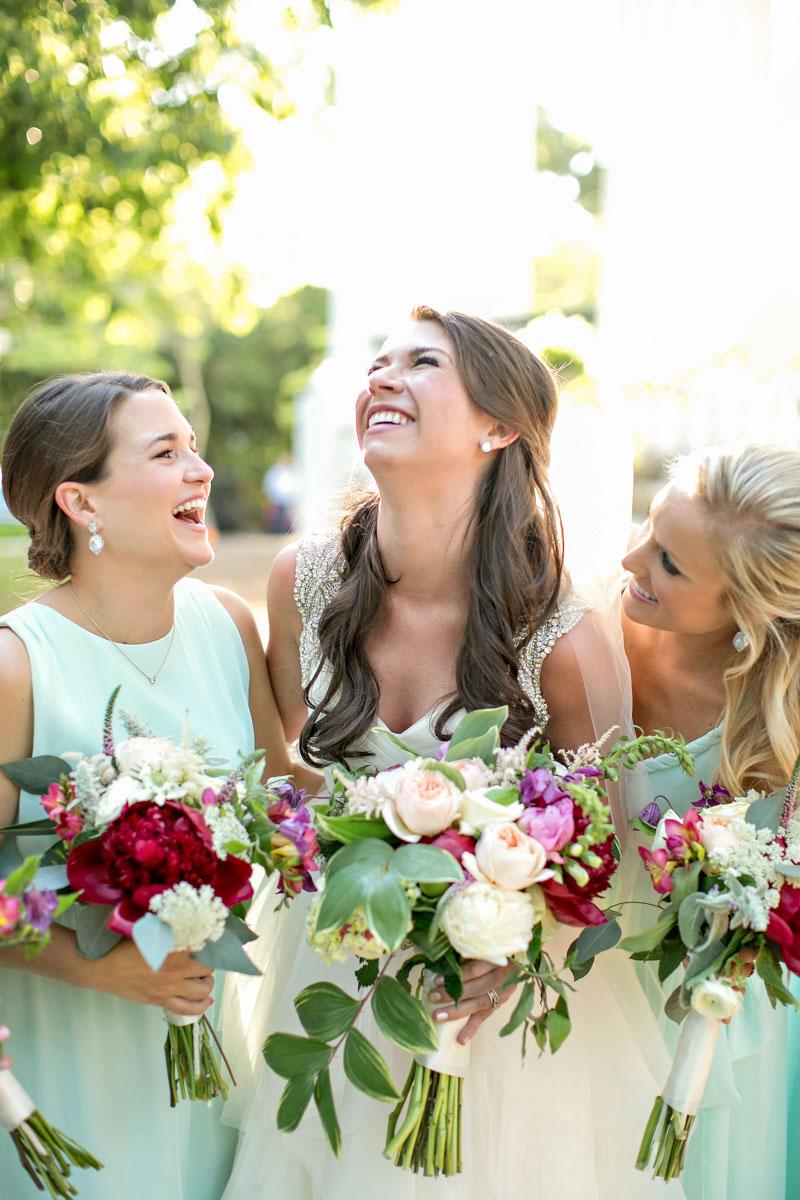 classicsouthernwedding_bridesmaids_peonyhydrangabouquet