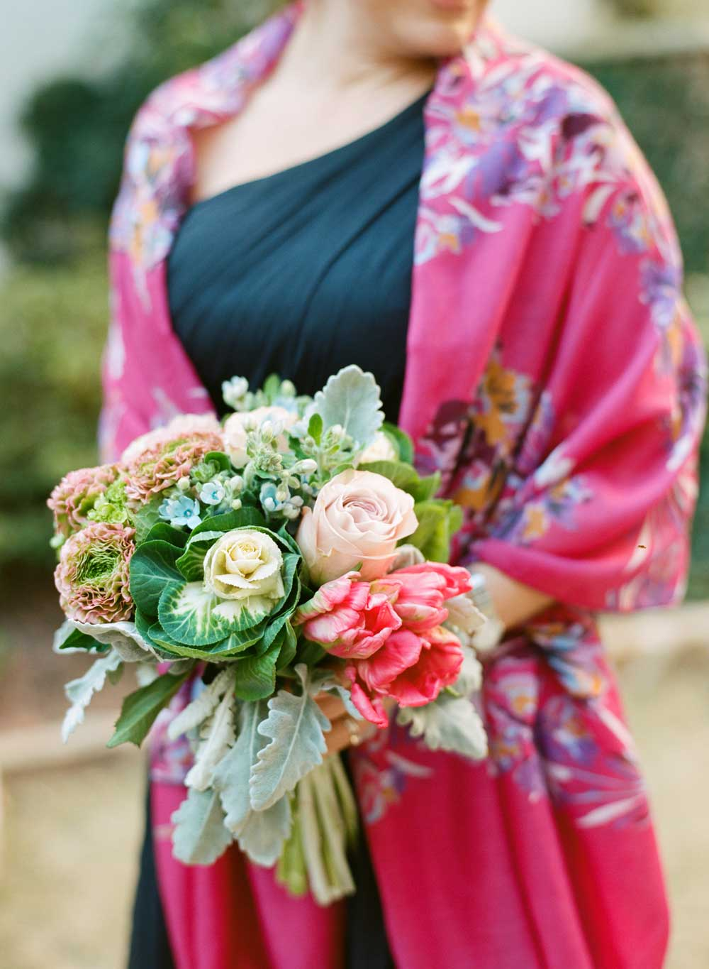 colorful-cabbage-and-flower-wedding-bouquet