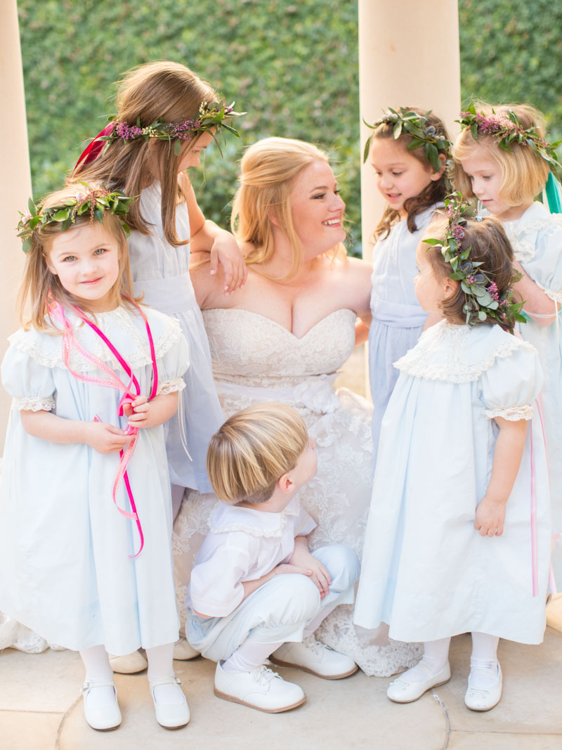 elegantwedding-bride-children