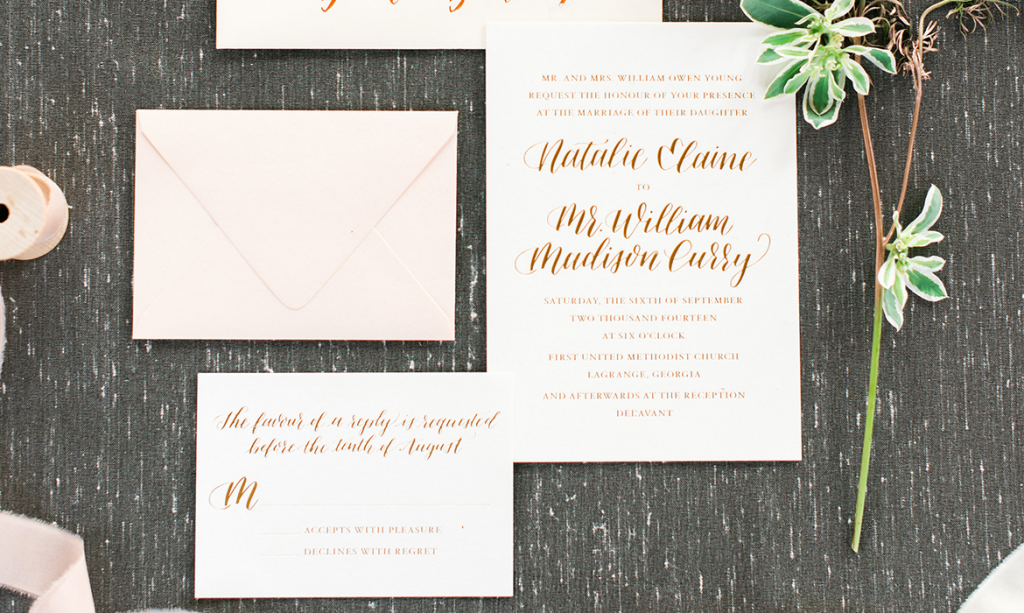 golden sentiment featured stationery