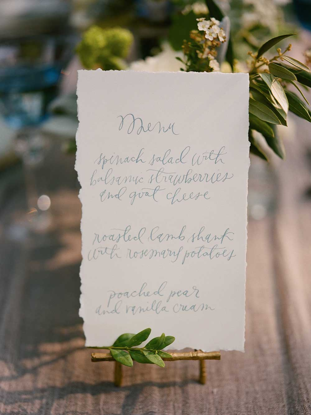 hand-lettered-wedding-menu