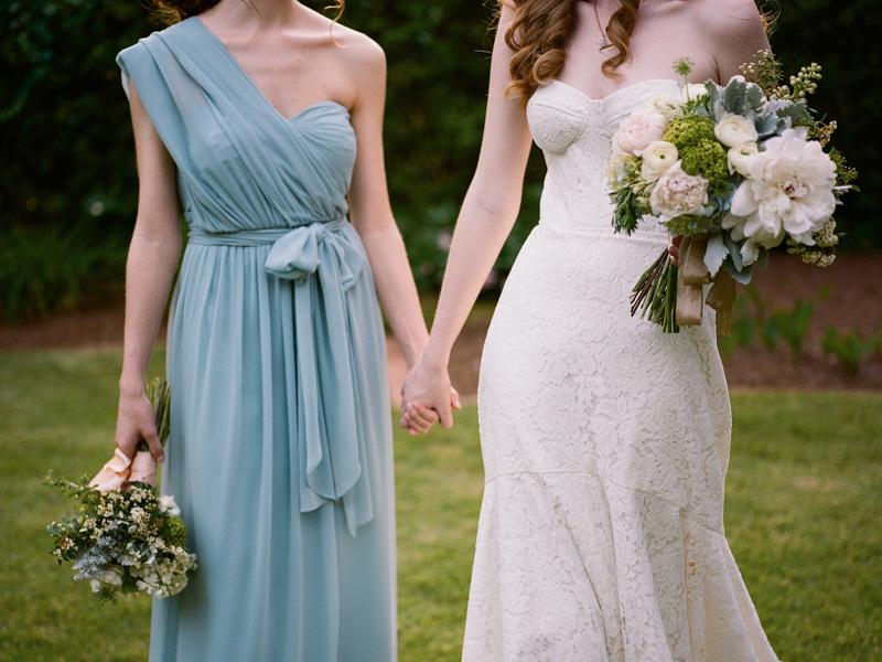 vintagegarden-bridesmaidbouquetdress
