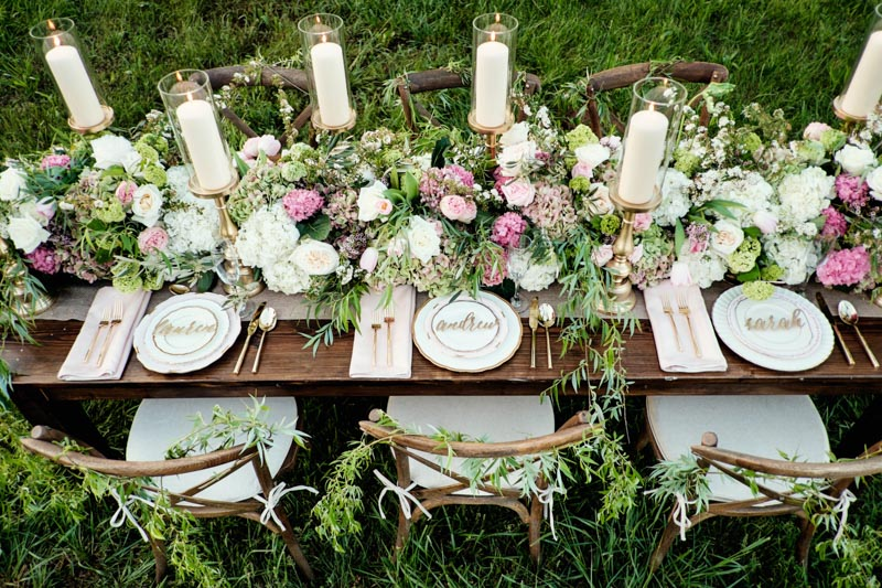 & Romantic Equestrian Wedding Inspiration - The Celebration Society