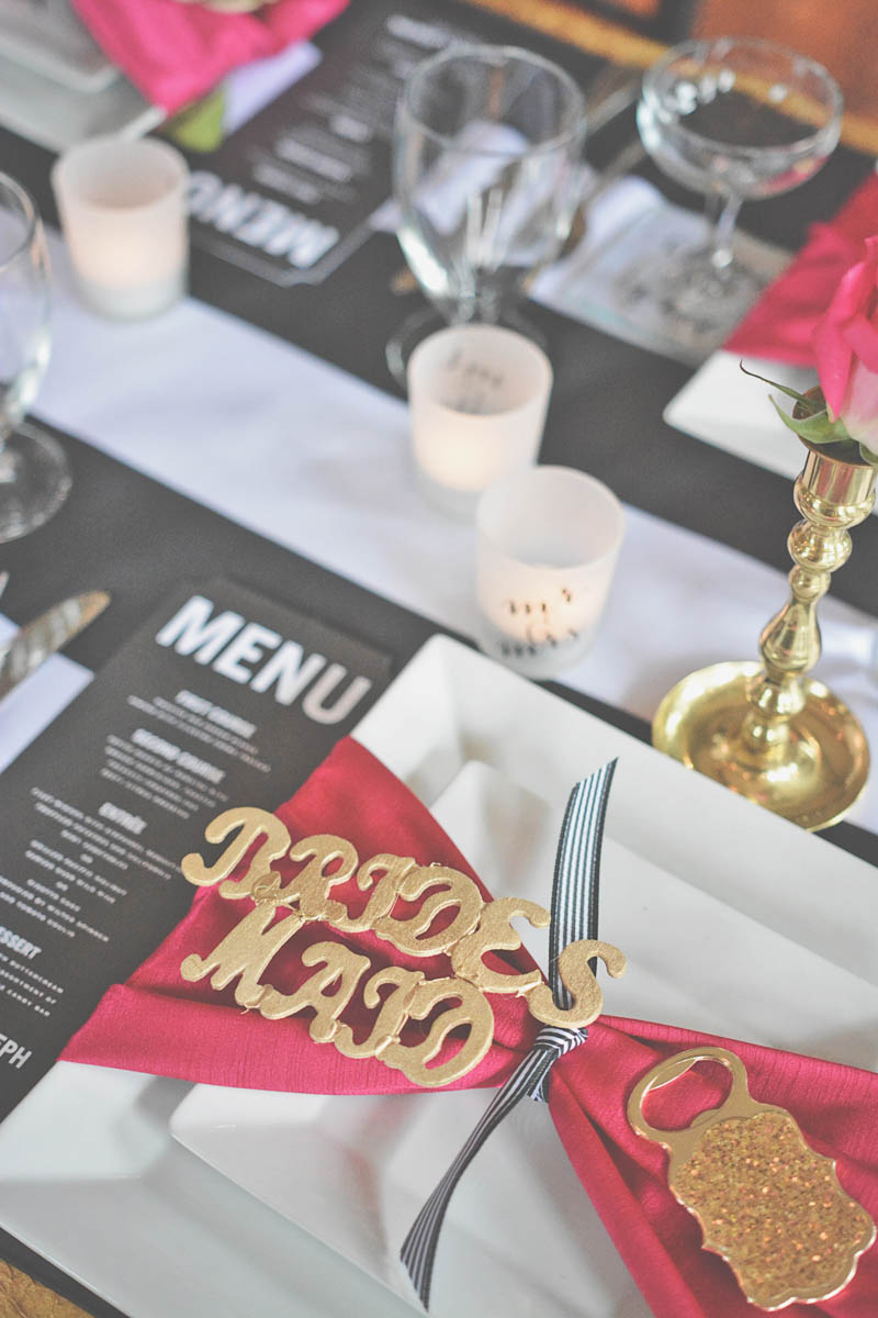 Bridesmaid Place Setting