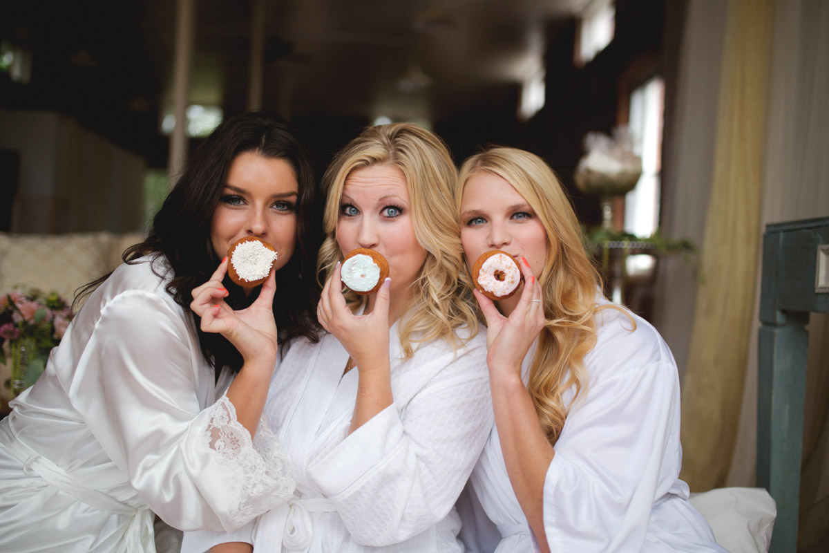 Bridesmaids With Donuts