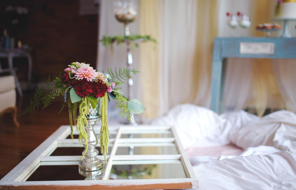 Floral Arrangement for Bridal Shower