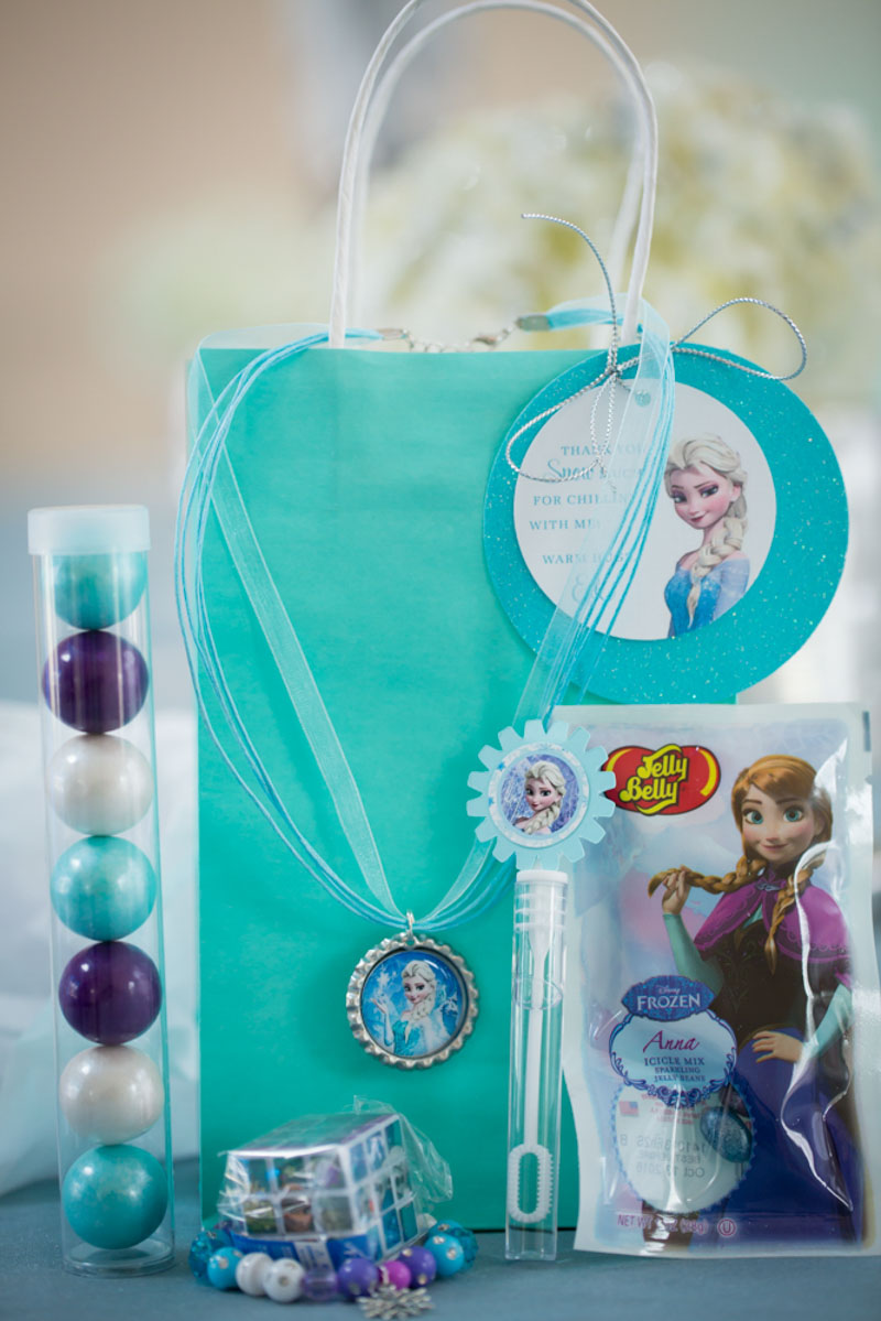 Frozen Themed Party Favors