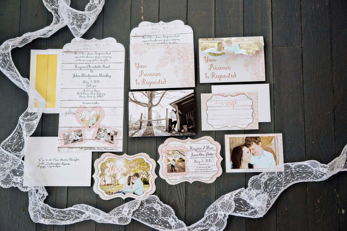 Lace Invitations_
