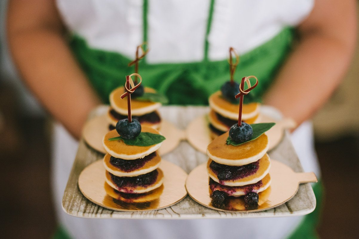 Mini Breakfast Pancake Stacks