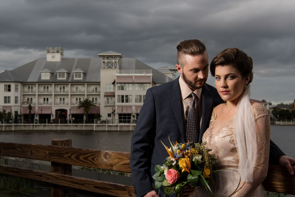 Vintage Floridian Charm Wedding Inspiration at Bohemian Celebration Hotel  in Celebration, FL