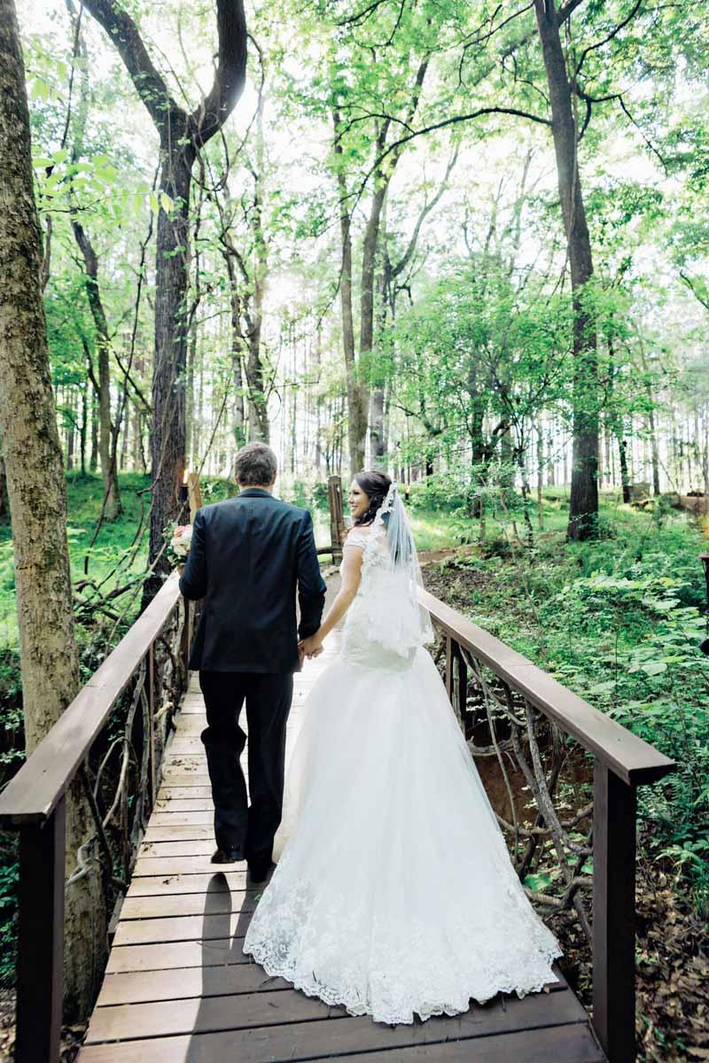 Walking Over Bridge_