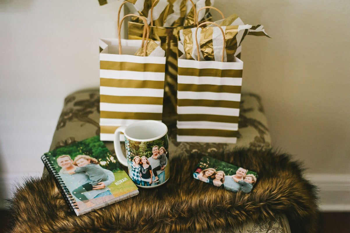 Wise Owl Woodland Styled Golden Striped Party Bags and Personalized Gifts