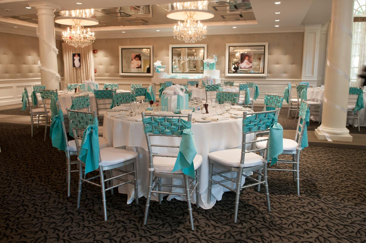 classic party themed venue space