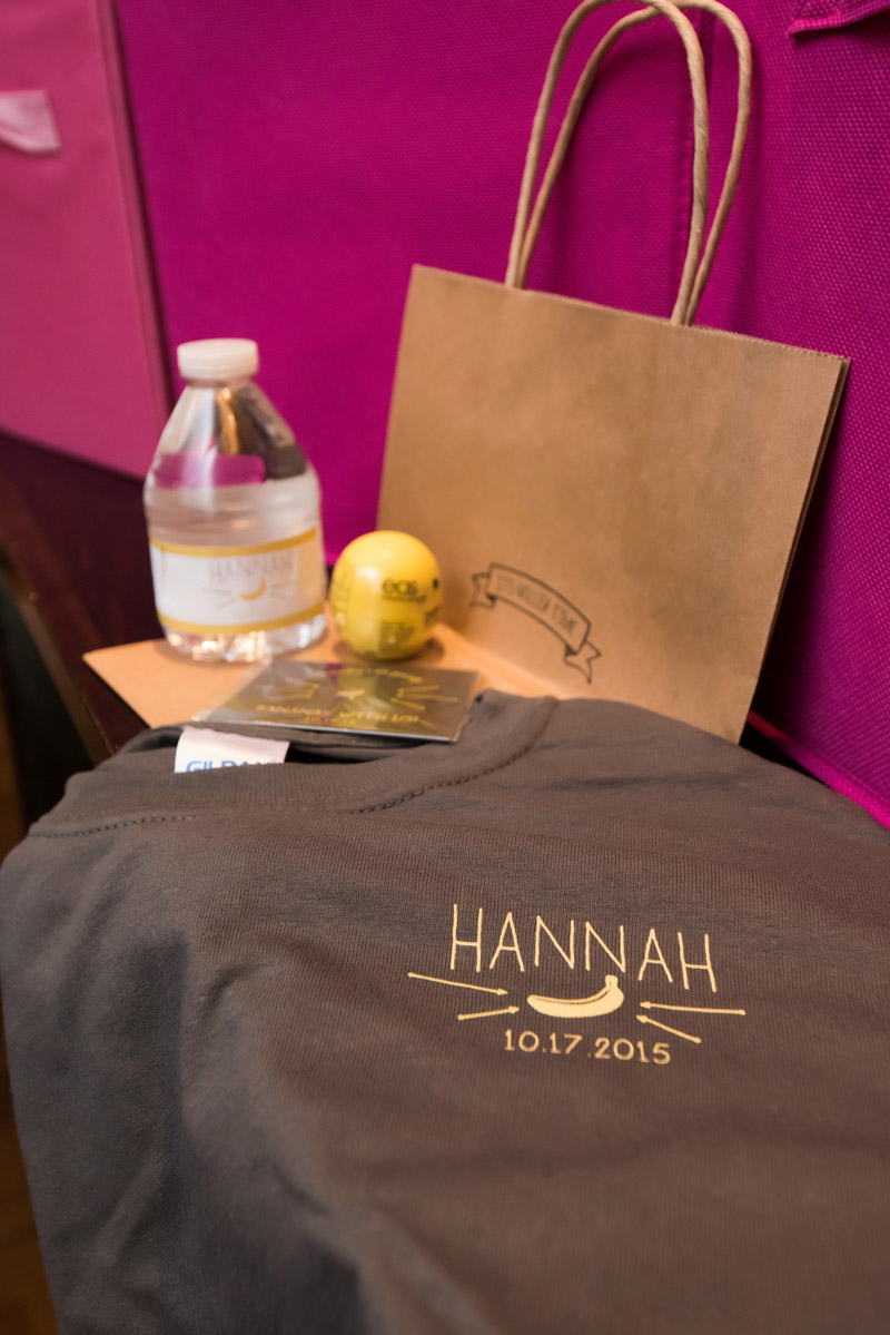 goodie bag for guests after mitzvah
