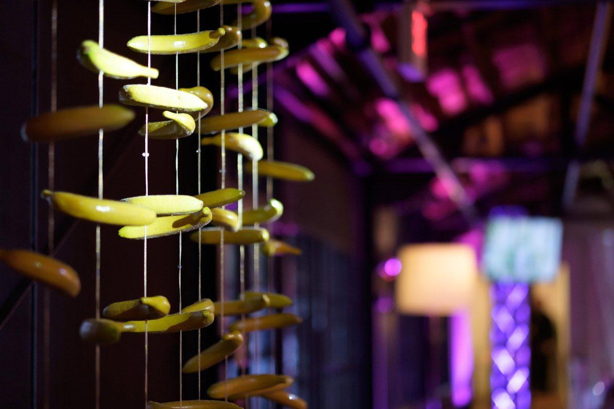 hanging banana decorations