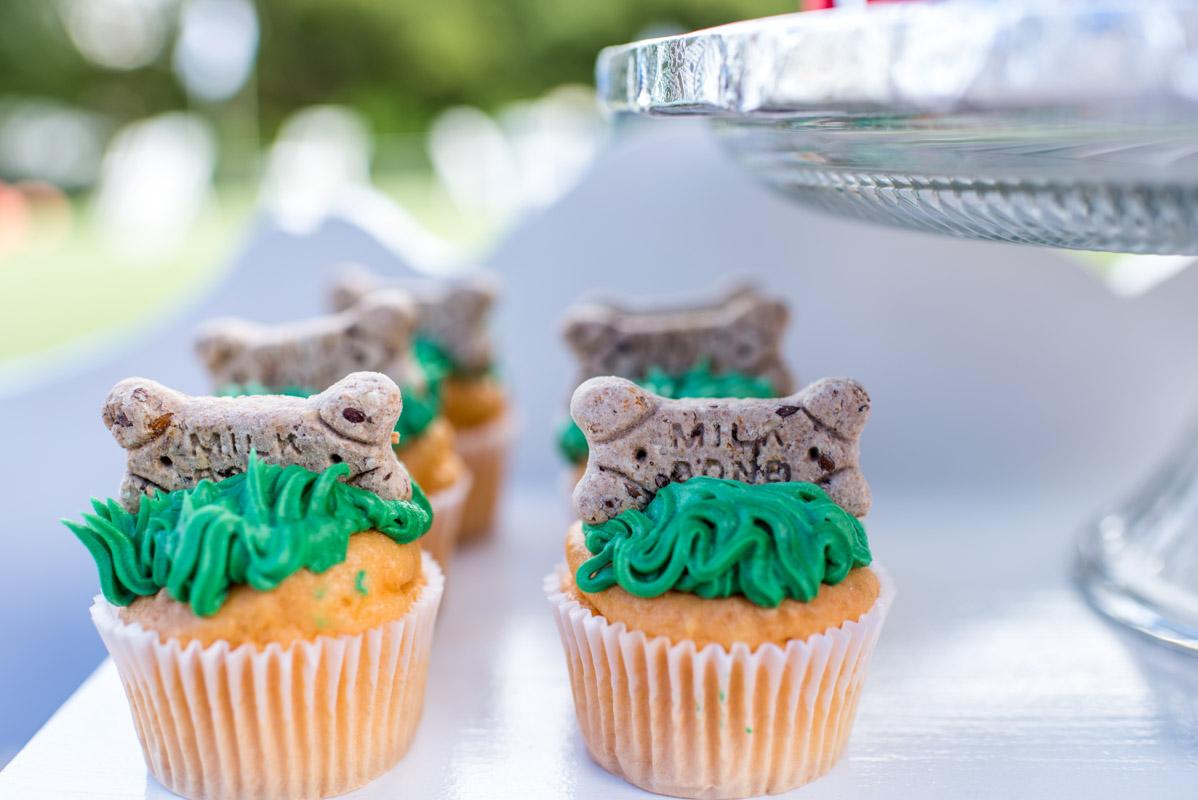 milk bone cupcakes