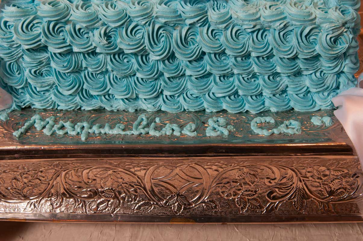 personalized party detail inspired by tiffany jewlery