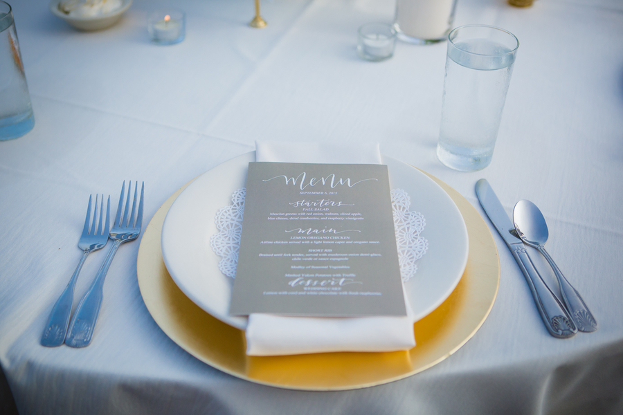 rustic themed place setting