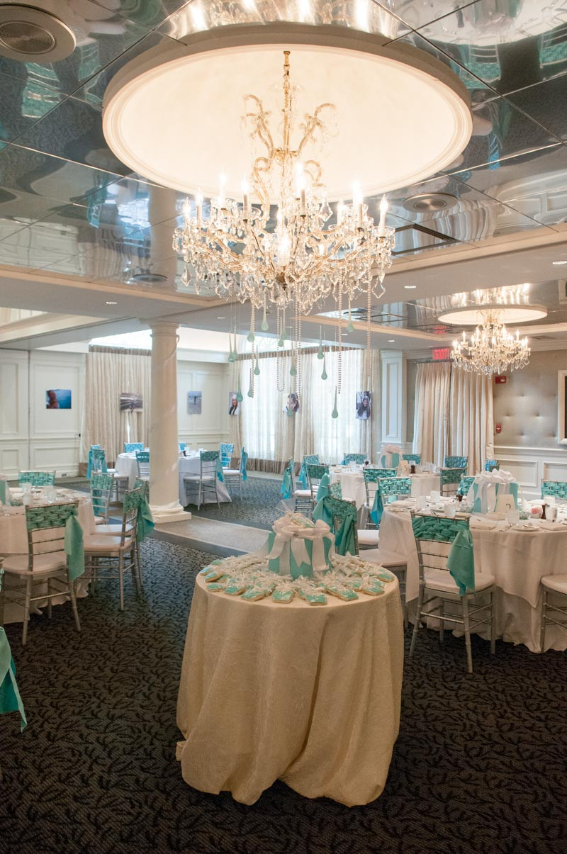 tiffany and co inspired party decor