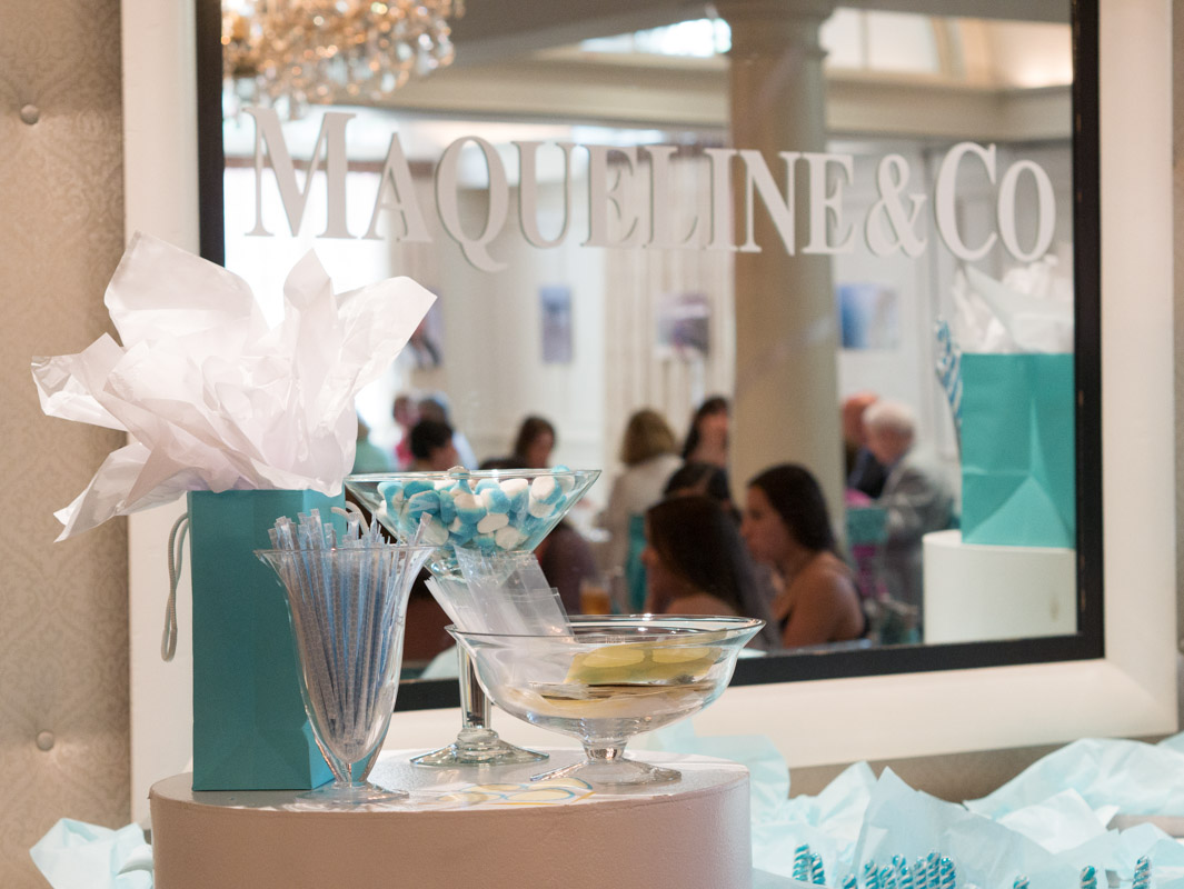tiffany and co themed birthday decorations