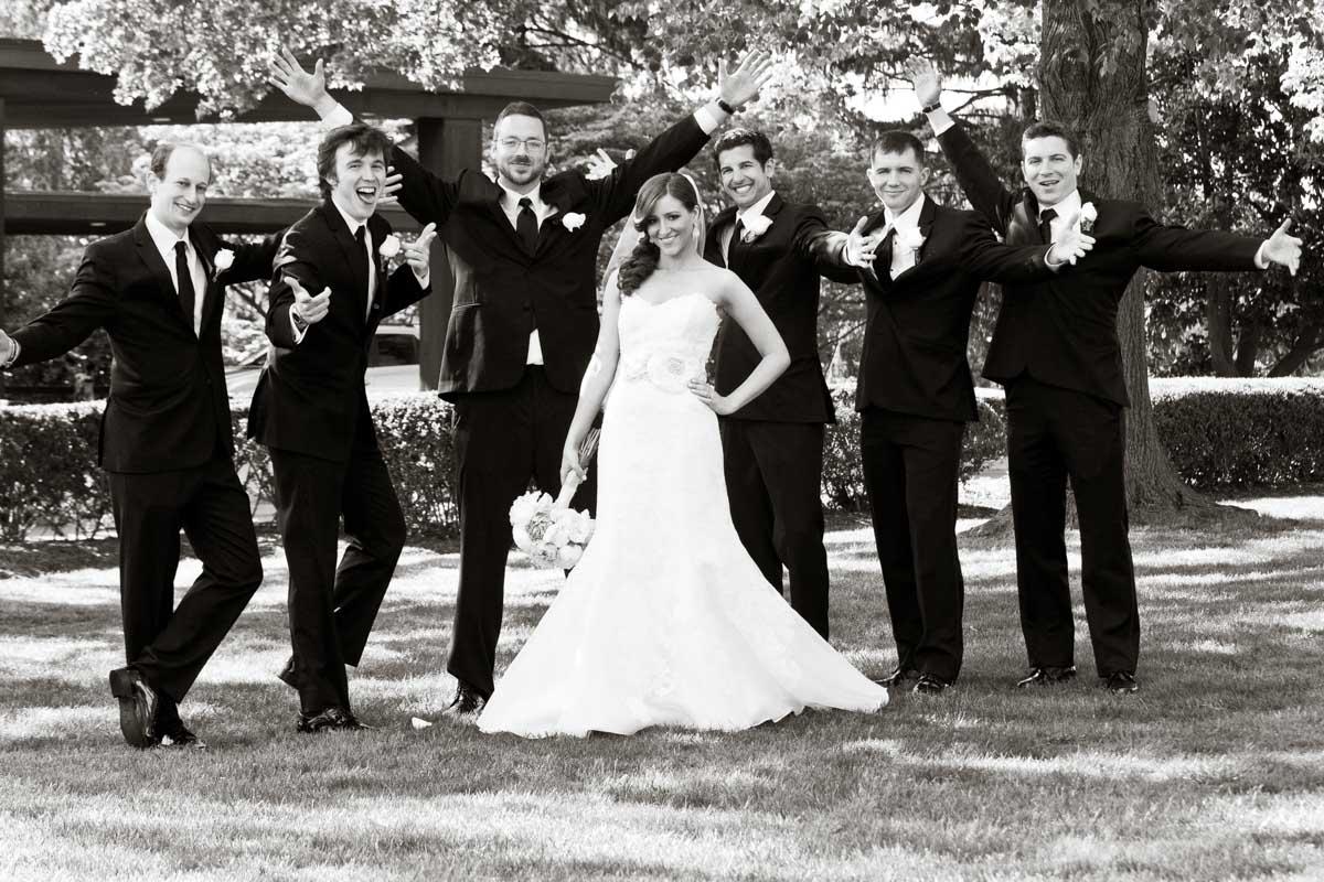 Bride & Groomsmen