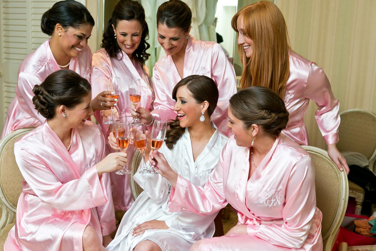 Bridesmaids & Champagne