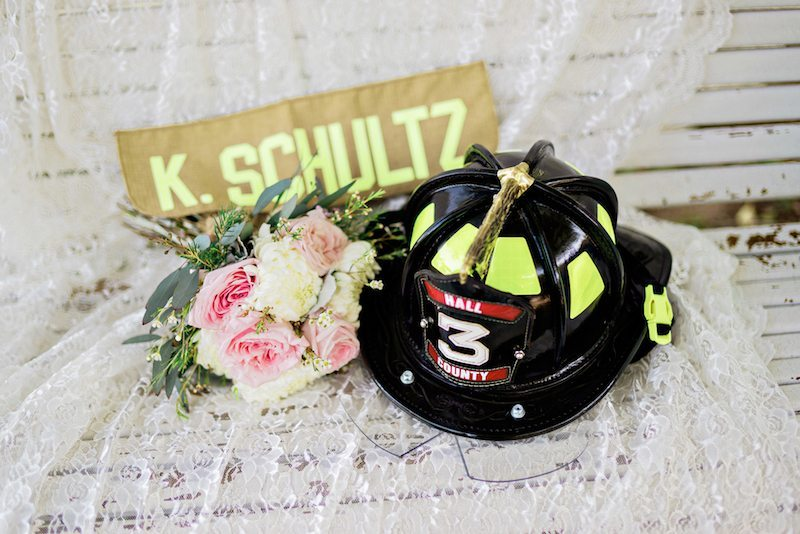 CharmingSouthernWeddingFirefighterTribute