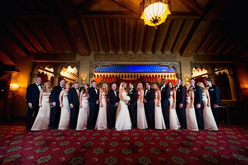 FoxTheatreWeddingBridalParty
