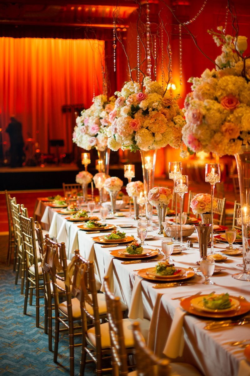 FoxTheatreWeddingTableSetting