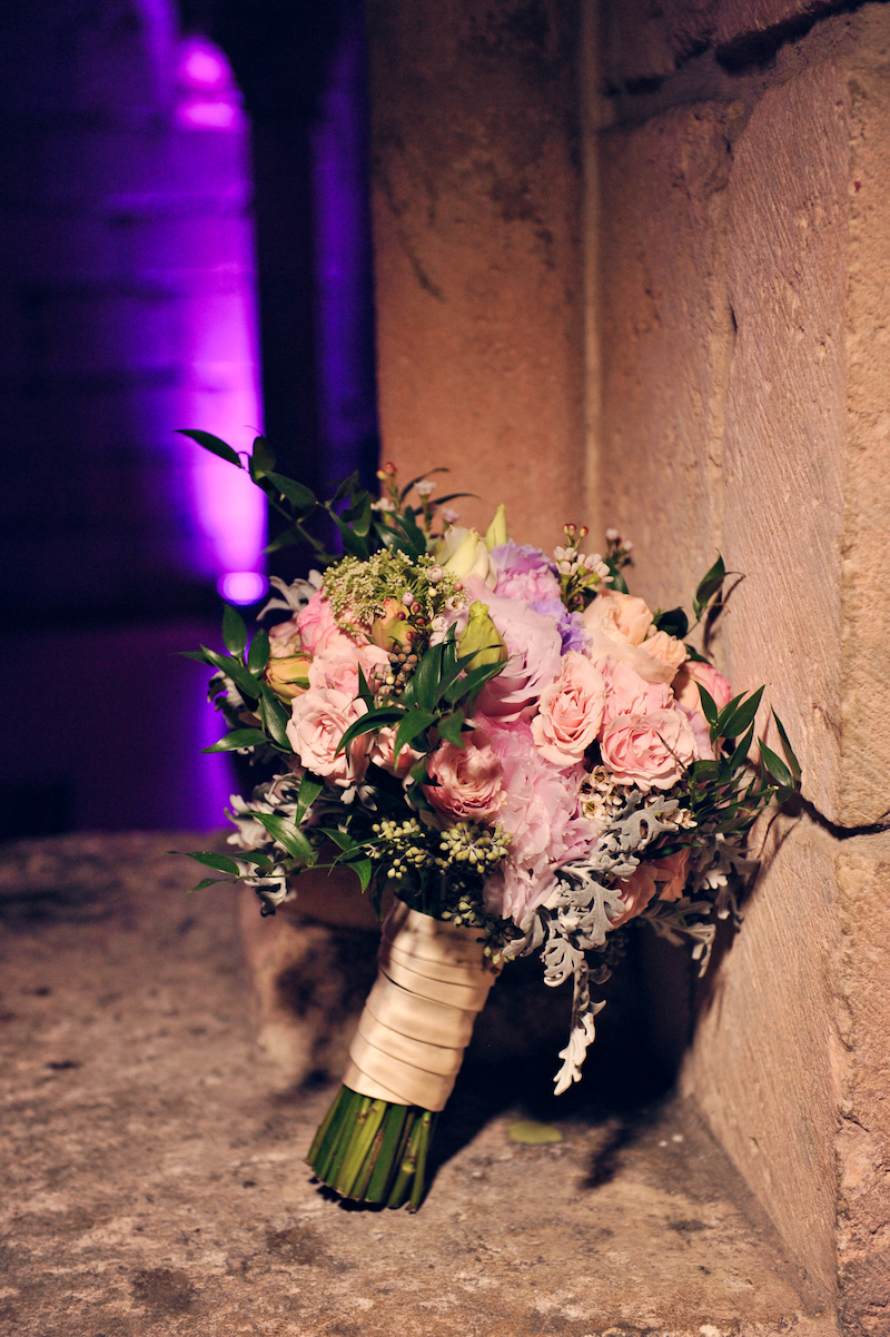Image via Jason Webster Photography Florals via Vivian Colls